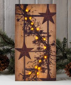 Another great find on #zulily! Pip Berry Garland Lighted Canvas #zulilyfinds