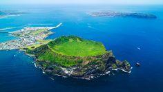 South Korea Jeju Island 성산일출봉 제주특별자치도 서귀포시 성산읍 일출로 284-12