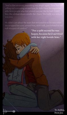 ron and hermione :))