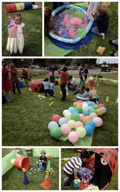 Mini obstacle course for the littles