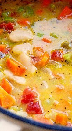 Butter Bean Soup ❊