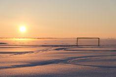 Fútbol ártico....