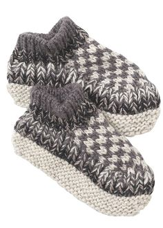 People Tree | Neutral Check Slipper