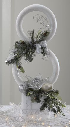 FloraCraft® Sculptural Snowman by Dondi Richardson #christmas #craft