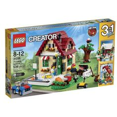 Buy LEGO Creator - Changing Seasons at Mighty Ape NZ. LEGO Creator – Changing Seasons Enjoy the delights of summer, autumn or winter with the wonderful LEGO Creator Changing Seasons set! Lego Creator Sets, The Creator, Lego Creator House, Toys R Us, Lego Batman, Lego Marvel, Halloween Themes, Christmas Themes, Christmas 2015