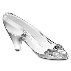 Real Glass Slippers Wedding Shoes | Glass Slipper