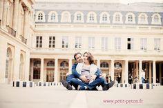 Photographe grossesse Paris : Béatrice et Bruce | http://www.petit-peton.fr/blog, Winter maternity session