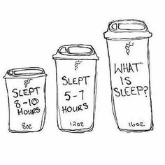 hahaha most of the time it's the 3rd one for me and i sleep pretty well...lol #coffeelover