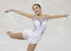 Yuna Kim Dress Inspiration/Custom Figure Skating by DesigntoDance