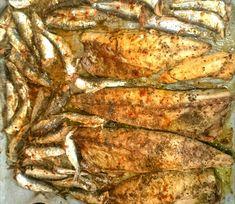 BROILED GREEK FISH....HMMM