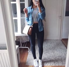 Cute outfit for running errands. - Cute outfit for running errands. Best Picture For e girl outfits For Your Taste You are looking f - Mode Outfits, Fashion Outfits, Womens Fashion, Club Outfits, Fashion Trends, Night Outfits, Woman Outfits, Fashion Ideas, Ladies Fashion