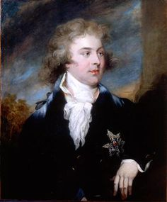 Portrait of The Prince of Wales, later King George IV (1762 – 1830) 1790. John Russell RA.