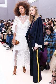 Olivia Palermo At Paris Fashion Week | THE OLIVIA PALERMO LOOKBOOK | Bloglovin'