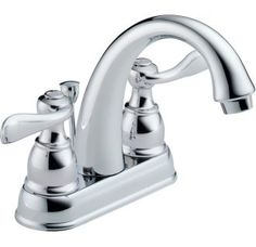 View the Delta B2596LF Windemere Centerset Bathroom Faucet with Pop-Up Drain Assembly - Includes Lifetime Warranty at Build.com.