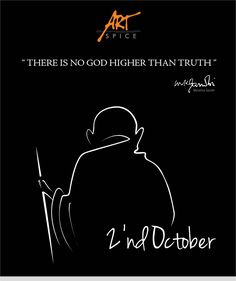 Happy Gandhi Jayanti ! #mahatma #gandhi #picoftheday #motivation #peaceandlove #indianproud #MyCleanIndia #GandhiJayanti #SwachBhara