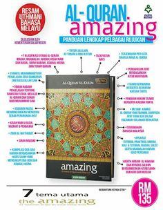 Al-Qur'an Amazing: Al-Qur'an Terjemahan Yang Lengkap Pelbagai Maklumat | Min Aina Ila Aina