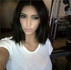 Kim short hair