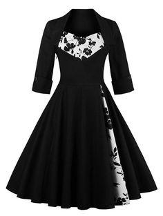 Flower Semi Formal Dress