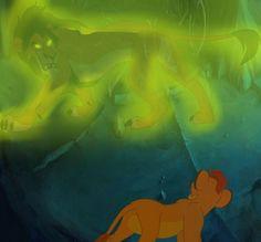 The meeting by SmallBlueTiger Scar Lion King, Lion King Fan Art, Lion King Baby, Disney Lion King, Disney Art, Disney Pixar, Disney Villains, Kiara And Kovu, Photo To Cartoon