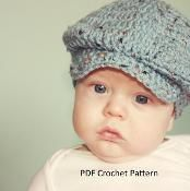 $3.50 at Craftsy --- Donegal Cap  for Babies to Adults - via @Craftsy