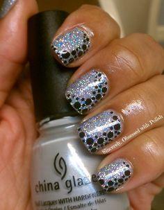 Cool Glitter Acrylic Nails Design