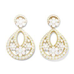 #VanCleef & Arpels - Snowflake earclips, large model