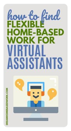 Ready to enter the exciting world of being a Virtual Assistant?  VA jobs are in high demand and are a great option for working from home!  Here are 9 Places To Find Flexible Home-Based Work for Virtual Assistants!  #virtualassistant #workathome #jobs