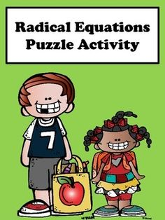 Radical Equations: Students will enjoy solving radical equations with this scrambler activity. This activity is great for remediation and differentiation.