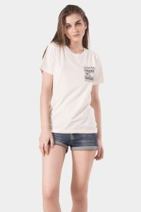 Monstore | Products - Tees - Desert Rose Pocket Tee Off White - White