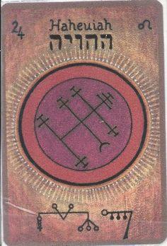 HAHEUIAH,Le protecteur Est votre Ange Gardien si vous êtes né(e) entre le 17 et le 22 juillet Nom céleste: HAIAH Il est le 24e angeet le 8e…