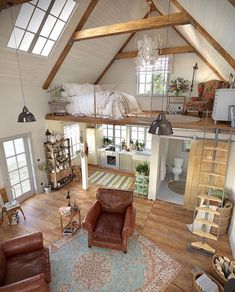 149 cool tiny house design ideas to inspire you 39 mantulgan.me Tiny House Design cool design House &; 149 cool tiny house design ideas to inspire you 39 mantulgan.me Tiny House Design cool design House &; Sophi Rast […] Homes interior bedroom loft Casa Loft, Modern Farmhouse Decor, Farmhouse Décor, Rustic Modern, Modern Coastal, Modern Decor, Farmhouse Interior, Quirky Decor, Coastal Style