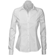 Gucci White Stretch Cotton Shirt ($410) ❤ liked on Polyvore featuring tops, blouses, shirts, camicie, bluzki, women, embroidery shirts, white top, embroidered logo shirts and white blouse