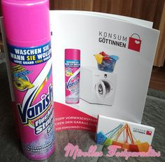Yeah, my clean package from the Konsumgöttinnen for free to test.
