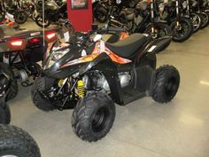 New 2016 Kymco Mongoose 70s ATVs For Sale in Iowa. 2016 KYMCO Mongoose 70s, 2016 Kymco Mongoose 70s The Mongoose 70S is a slick youth-sized sport quad comes with serious GNCC and ATV Motorcross racing credentials. Powered by an air-cooled and carbureted 69cc 4-stroke engine, and operated via an easy to use automatic CVT, the chain-drive Mongoose features a single A-arm front and swingarm rear suspension mated to preload adjustable shocks, 16x8-7 front/16x8-7 rear tires, and front drum and…