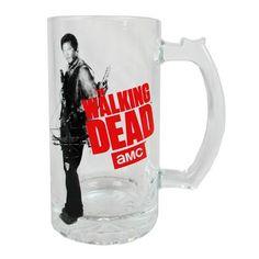 The Walking Dead Daryl Dixon Beer Mug - Just Funky - Walking Dead - Mugs at Entertainment Earth
