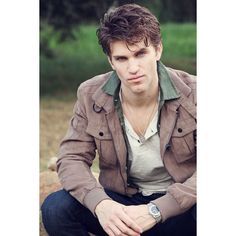 Man Candy Monday Keegan Allen ❤ liked on Polyvore featuring home, home decor, keegan allen and males