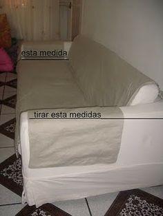 Adoro Artesanato: Protetor de sofá