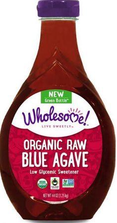 Organic Raw Blue Agave, 44 oz (1.25 kg) Sweetener Low Glycemic Gluten Free Vegan #wholesomsweeteners