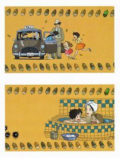 My Neighbor Totoro | Hayao Miyazaki | Studio Ghibli / Kusakabe Satsuki, Kusakabe Mei, Kusakabe Tatsuo (Satsuki and Mei's Father), and Kusakabe Yasuko (Satsuki and Mei's Mother)