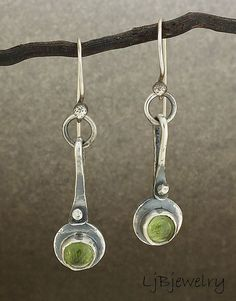 Peridot Earrings | Flickr - Photo Sharing!