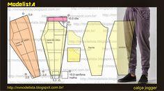 Modelagem de calça jogger. ModelistA: QUAL MODELAGEM VC PROCURA? 15% PROCURAM MODELAGEM MASCULINA