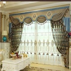 Luxury and Elegant Navy Blue Voile Polyester Sheer Curtain for Living Room and Bedroom Decorative Custom No Pilling No Fading No off-lining Net Curtain Custom Drapes, Luxury Hotel, Navy Blue Curtains, Curtains, Blue Curtains Living Room, Sheer Curtain, Blue Curtains, Curtains With Blinds, Room