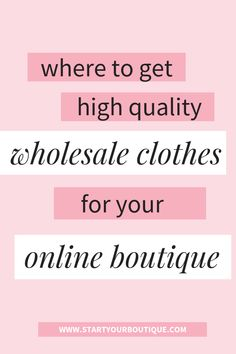 Online clothing boutiques - Where Do Online Boutiques Buy Clothes – Online clothing boutiques Mobile Boutique, A Boutique, Boutique Ideas, Fashion Boutique, Affiliate Marketing, Starting An Online Boutique, Wholesale Boutique Clothing, Wholesale Jewelry, Buy Wholesale
