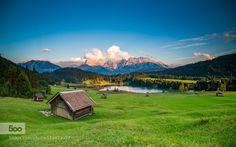 Alpine Landscape by clickpix #landscape #travel