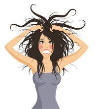 image drole s'arracher les cheveux