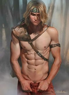 Men in fantasy art — He's one of my new character by aenaluck Hot Anime Boy, Anime Guys, Best Body Men, Character Inspiration, Character Art, Character Ideas, Character Design, Art Of Man, Fantasy Characters