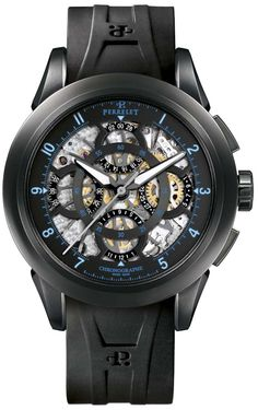 Perrelet Skeleton Chronograph Watch