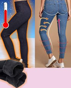 Fleece Leggings, Leather Leggings, Jeans Leggings, Outfits Otoño, Casual Outfits, Fashion Outfits, Cute Comfy Outfits, Plus Size Leggings, Fashion Tips For Women