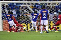 Cruzeiro 2-1 Internacional • Marcelo Moreno's Goal • Mineirão, Belo Horizonte • October 4, 2014.