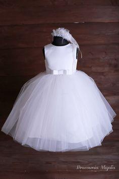 Sukieneczka tiulowa S017 r.104 - Pracownia-Migala - Sukienki dla dziewczynek